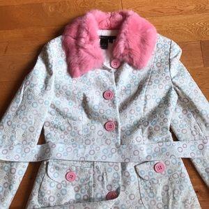 Vintage Marc Jacob's rare authentic real fur